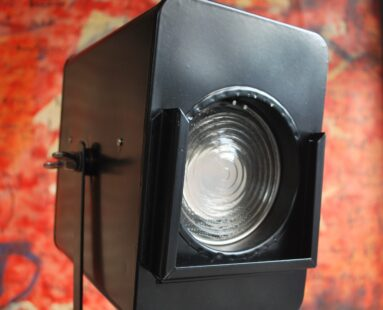 original sprayed theatre lamp lighting
