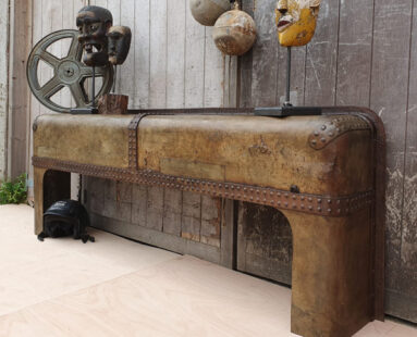 bespoke watertank console table furniture