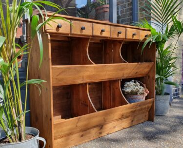 wooden bespoke general store display cabinet furniture