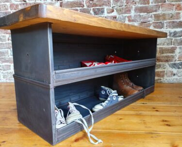 bespoke army industrial storage furniture