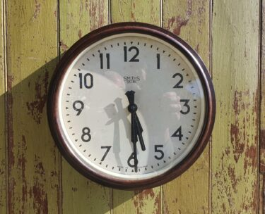 1940s office decorative wall clock