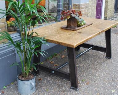 bespoke custom made industrial table furniture