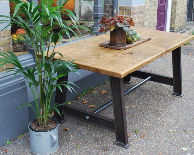 bespoke custom made industrial table furniture