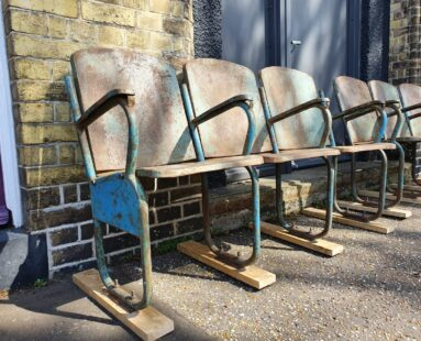 metal cinema seats