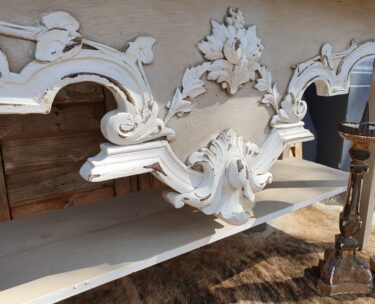 painted wooden console table furniture