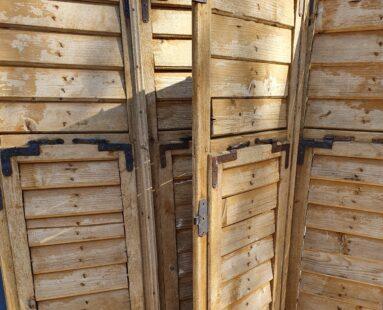 pine shutters decorative homewares