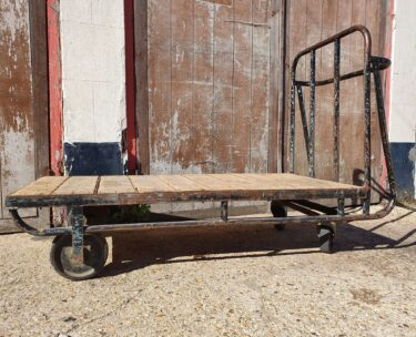 factory trolley industrial table