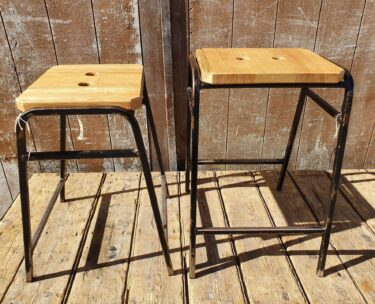 industrial stools seating bar