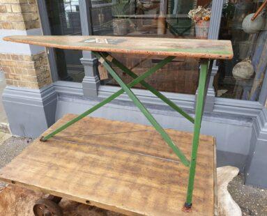 rigid aristocrat wooden ironing board homewares tables