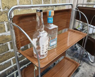 folding retro service trolley furniture
