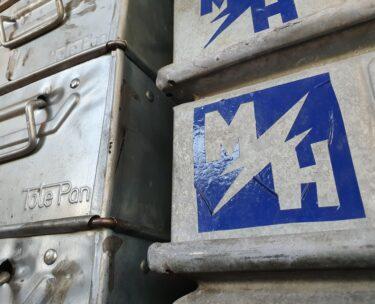 galvanised steel storage boxes crates decorative homewares