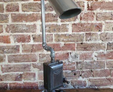 bespoke industrial table lamp lighting