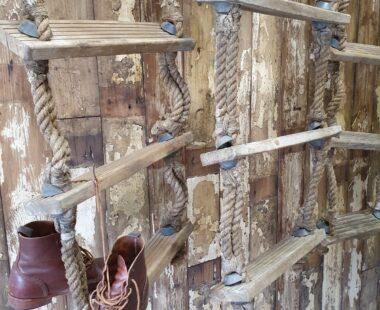 vintage handmade nautical rope ladders decorative homewares garden