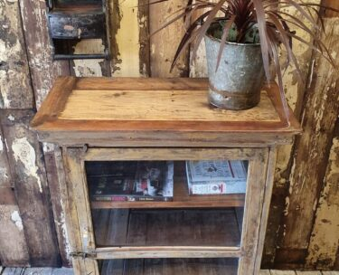 Glass fronted display cabinet rustic wood furniture cupboards and cabinets