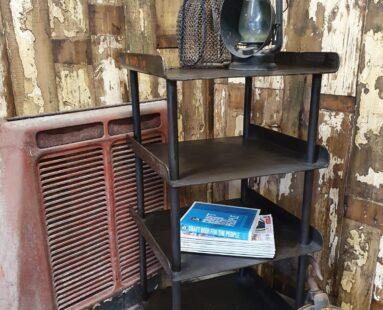 vintage steel engineers stand furniture tables storage