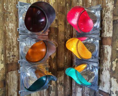 polished american traffic lights lighting homewares