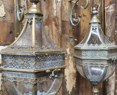decorative brass wall hanging lanterns for candles decorative homewares lighting