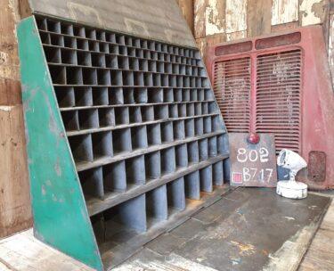 industrial lockable pigeon holes furniture storage industrial