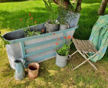 french lead bathtub garden planters decorative homewares
