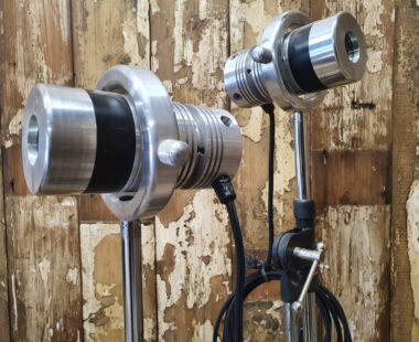 steel medical healing lights on tripod stands lighting